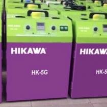 Máy cắt Hikawa HK-5G , máy cắt chỉ thừa 2 đầu di động,sử dụng 2 motor hút độc lập, công suất 650w, lực hút mạnh, có ngăn chứa rác và hệ thống làm mát motor