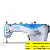 A4-H máy may Jack ,máy 1 kim điện tử cắt chỉ và nâng chân vịt tự động ,mũi may 5mm ,may hàng dày
