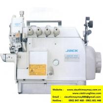JK-797TD-I-4-514-M03-333 máy vắt sổ Jack ,máy vắt sổ bo tay 2 kim 4 chỉ ,motor liền trục ,khoảng cách kim 2mm bờ vắt sổ 4mm