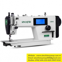ZJ8000E-D4J-TP máy may Zoje ,máy 1 kim liền trục điện tử có nâng chân vịt ,ổ Japan ,màn hình cảm ứng