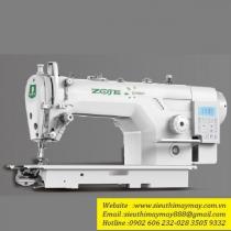 ZJ9000DA-D5S máy may Zoje ,máy 1 kim liền trục điện tử dầu khô ,ổ Japan có 5 chức năng tự động ,cắt chỉ sát 3mm ,mâm dầu kín
