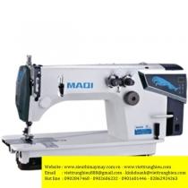 LS-3810DP máy móc xích Maqi ,máy 2 kim móc xích ,2 kim thẳng hàng ,motor điện tử liền trục