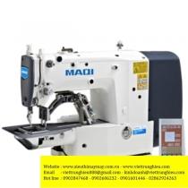 LS-T1904E máy lập trình Maqi ,máy may chương trình điện tử cắt chỉ nâng chân vịt tự động ,khổ may 60x40mm ,motor Dahao ,panel LCD