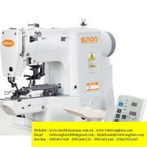 SM-438GA-01 máy nút Simon ,máy đính nút điện tử cài đặt được nhiều chương trình khác nhau