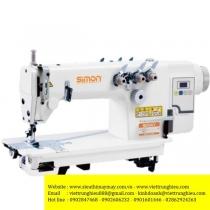 SM-8380D máy móc xích Simon ,máy 2 kim móc xích 2 kim song song ,motor liền trục tiết kiệm điện