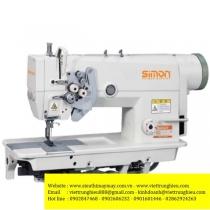 SM-872-5 máy may 2 kim Simon ,máy 2 kim cố định ổ lớn chuyên may hàng dày ,sử dụng motor tiết kiệm điện