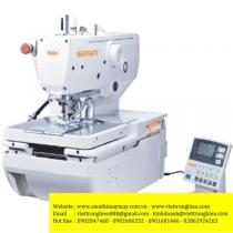 SM-9820-02B máy khuy Simon ,máy khuy mắt phụng điện tử cắt chỉ ngắn với 2 dao
