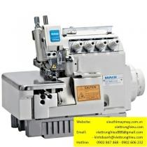 LS-798D-5-35 máy vắt sổ Maqi ,máy vắt sổ 2 kim 5 chỉ motor liền trục ,khoảng cách kim 3mm bờ vắt sổ 5mm