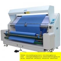SW-124G-ED-LF-60 máy kiểm vải Gjn ,máy kiểm vải có chức năng cân biên vải và xả vải tự động ,khổ 1600mm ,kiểm được cả vải dày và mỏng