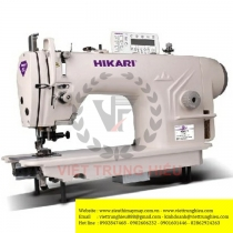 H8880C-7C-2TC máy may Hikari ,máy 1 kim xén điện tử có bộ hút chỉ và vải dư thừa