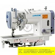 JK-58420C-005 máy 2 kim Jack ,máy 2 kim cố định ổ nhỏ may hàng trung bình dày
