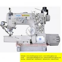 JK-8669DII-35ACx356 máy viền Jack ,máy viền xén trái motor liền trục