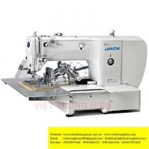 JK-T2210 máy may chương trình Jack ,máy lập trình điện tử khung 220 x 100mm cắt chỉ tự động bằng hơi