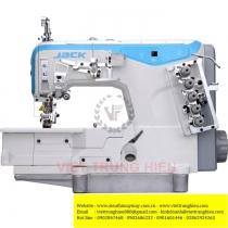W4-D-01GB máy viền Jack ,máy viền bằng 3 kim đánh bông motor liền trục