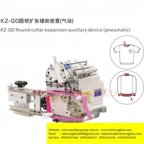 Bộ căng thun Sysm KZ-QD-SYSM ,loại tự động bằng hơi dùng cho máy vắt sổ bo tay ,chạy bo cổ áo hoặc lưng quần