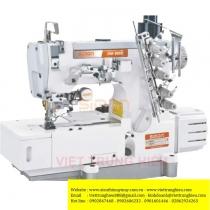 SM-598D-01-UT máy viền bằng điện tử Simon ,máy trần viền 3 kim đánh bông đầu bằng điện tử ,cắt chỉ điện và nâng chân vịt tự động