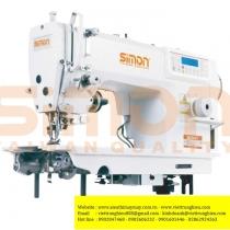 SM-8990A-7C4 máy may Simon ,máy 1 kim xén điện tử cắt chỉ ,nâng chân vịt tự động