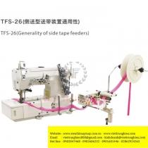 TFS-26 bộ phụ trợ Sysm ,bộ cấp dây viền đặt bên hông máy khổ 80mm ,gắn trực tiếp xuống bàn máy ,7kg