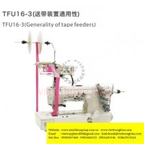 TFU16-3 bộ phụ trợ Sysm ,bộ cấp dây viền đặt phía trên đầu máy khổ 80mm ,gắn trực tiếp xuống bàn máy ,7.4kg
