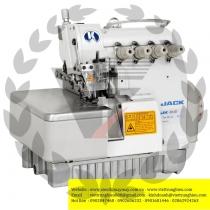 JK-804D-M2-24 máy vắt sổ Jack ,máy vắt sổ 2 kim 4 chỉ ,motor liền trục ,khoảng cách kim 2mm bờ vắt sổ 4mm