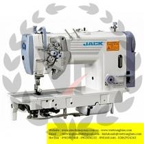 JK-58450G-405 máy 2 kim Jack ,máy 2 kim di động ổ nhỏ điện tử cắt chỉ may hàng trung bình dày