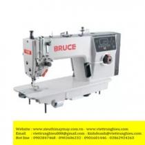 R5 máy may Bruce ,máy 1 kim điện tử cắt chỉ và nâng chân vịt tự động ,cắt chỉ ngắn ,đồng tiền điện tử ,usb ,may được cả vải dày và mỏng