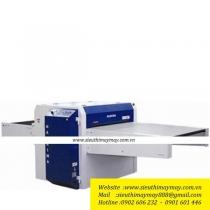 HP-900LFS máy ép keo Hashima ,máy ép keo băng tải khổ 900mm
