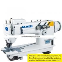 LS-3830D-PL máy móc xích Maqi ,máy 3 kim móc xích ,3 kim song song có trợ lực ,motor điện tử liền trục