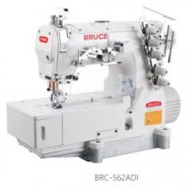 BRC-562AD-I-01GBx356 máy viền Bruce ,máy trần viền 3 kim đánh bông đầu bằng ,motor liền trục tiết kiệm điện ,cự ly kim 5.6mm hoặc 6.4mm