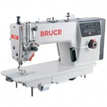 R5 máy may Bruce ,máy 1 kim điện tử cắt chỉ và nâng chân vịt tự động ,cắt chỉ ngắn 3mm ,đồng tiền điện tử dừng máy khi đứt chỉ ,có cổng usb ,may được cả vải dày và mỏng