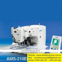 Máy may chương trình Juki AMS-210-ENHL-2210-SZ5000D-MC587K-IP420F ,loại máy lập trình điện tử khung 220x100mm cắt chỉ tự động bằng hơi