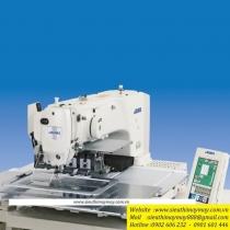Máy may chương trình Juki AMS-221-ENHL-3020-SZ5000-KSF ,loại máy lập trình điện tử khung 300x200mm cắt chỉ tự động bằng hơi