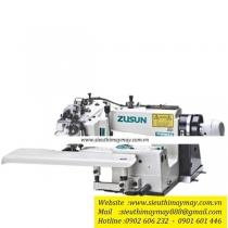 CM-364-3D máy vắt lai Zusun ,máy vắt lai (vắt gấu) điện tử chuyên dụng cho áo veston ,đầm cưới