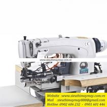 CM-63922-D4 máy vắt lai Zusun ,máy vắt lai (vắt gấu) quần Jean điện tử cắt chỉ móc xích và móc đơn