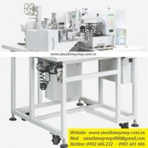 CSM-1007G-09XJ máy may Supreme ,máy nối thun tự động điện tử có thể cài đặt các mẫu may khác nhau và điều chỉnh chiều dài sợi thun