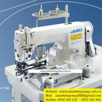 DLN-6390S-7-WOA máy may 1 kim Juki ,máy may lai quần Jean điện tử cắt chỉ tự động