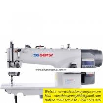 GEM8957C-E3 máy may Gemsy ,máy 1 kim điện tử cắt chỉ tự động motor liền trục