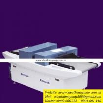 HD-2650CE-100 máy rà kim Enntech ,máy dò kim tự động có 2 cổng dò ,cổng dò cao 100mm ,rộng 600mm ,độ dò kim loại ≥ 0.8 mm