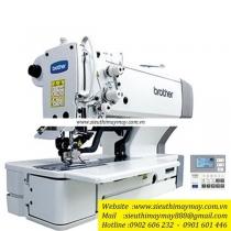 HE-800B-02 máy khuy Brother ,máy khuy bằng điện tử chuyên dùng cho loại vải dệt thoi