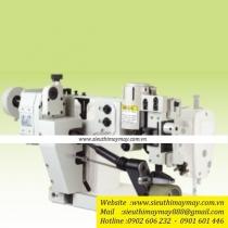 HPT bộ phụ trợ Hurg ,bộ trợ lực dùng cho loại máy 1 kim 2 kim với rulo trên đường kính 55mm ,chiều rộng 15mm ,35mm ,50mm ,rulo dưới đường kính 25mm ,chiều rộng 80mm ,16.5kg