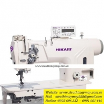 HT9210TAH-7P3 máy 2 kim Hikari ,máy 2 kim cố định điện tử cắt chỉ tự động chuyên hàng dày