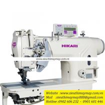 HT9220TAH-7P3 máy 2 kim Hikari ,máy 2 kim di động điện tử cắt chỉ tự động ,chuyên hàng dày