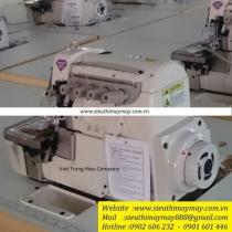 HX6814-03*HP-022TV máy vắt sổ Hikari ,máy vắt sổ 2 kim 4 chỉ ,motor liền trục ,khoảng cách kim 2mm bờ vắt sổ 4mm