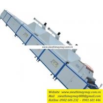 JN-398-III máy định hình vải Gjn ,máy định hình độ co giãn vải có chức năng làm nóng ,làm lạnh và sấy khô , khổ 1800mm ,công suất 90kw ,lượng hơi tiêu thụ 300kg/h
