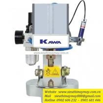 KW-01-100 máy đóng nút Kawa ,máy dập nút đồng dùng hơi 1 đầu ,có thiết bị bảo vệ tay an toàn