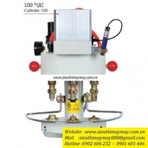 KW-03-100 máy đóng nút Kawa ,máy dập nút đồng dùng hơi 3 chế độ khác nhau ,có thiết bị bảo vệ tay an toàn
