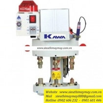KW-03-100SH máy đóng nút Kawa ,máy dập nút đồng dùng hơi 3 chế độ khác nhau ,có hệ thống bảo vệ tay an toàn tự động