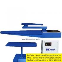 KW-1100L-H ,bàn hút Kawa ,bàn hút mỏ vịt trái ,có gối,cầu là chữ U,mặt lưới inox,motor hút 750w ,kích thước 410x 1050mm ,có điện trở sấy khô