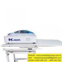 Máy ép keo Kawa KW-600MS ,khổ 6000mm ,cân băng tự động