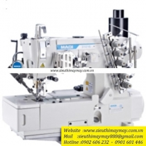 LS-31016P-01CB-UT ,máy viền bằng Maqi ,máy viền bằng điện tử cắt chỉ nâng chân vịt tự động